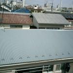 木造アパート屋根ふき替え